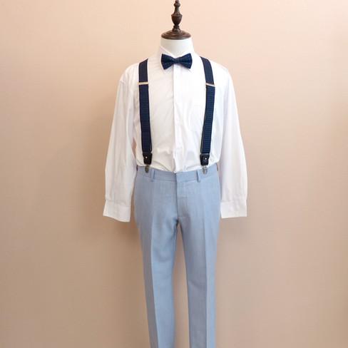 bowtie and suspender