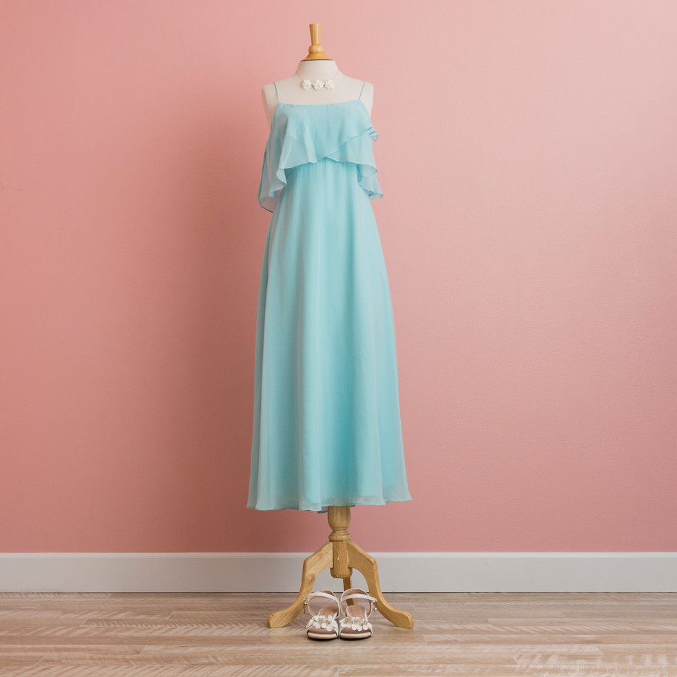 Pastel BLue Party Dress