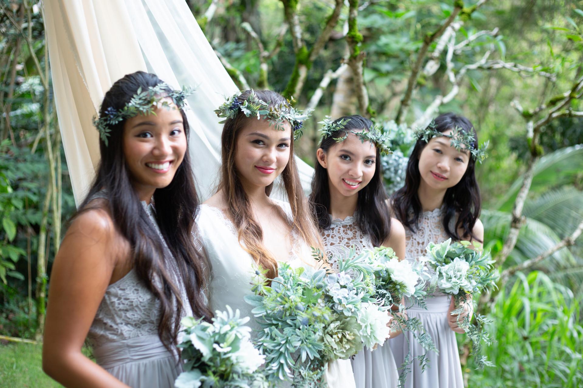 Lacey Grey Bridesmaid Dresses