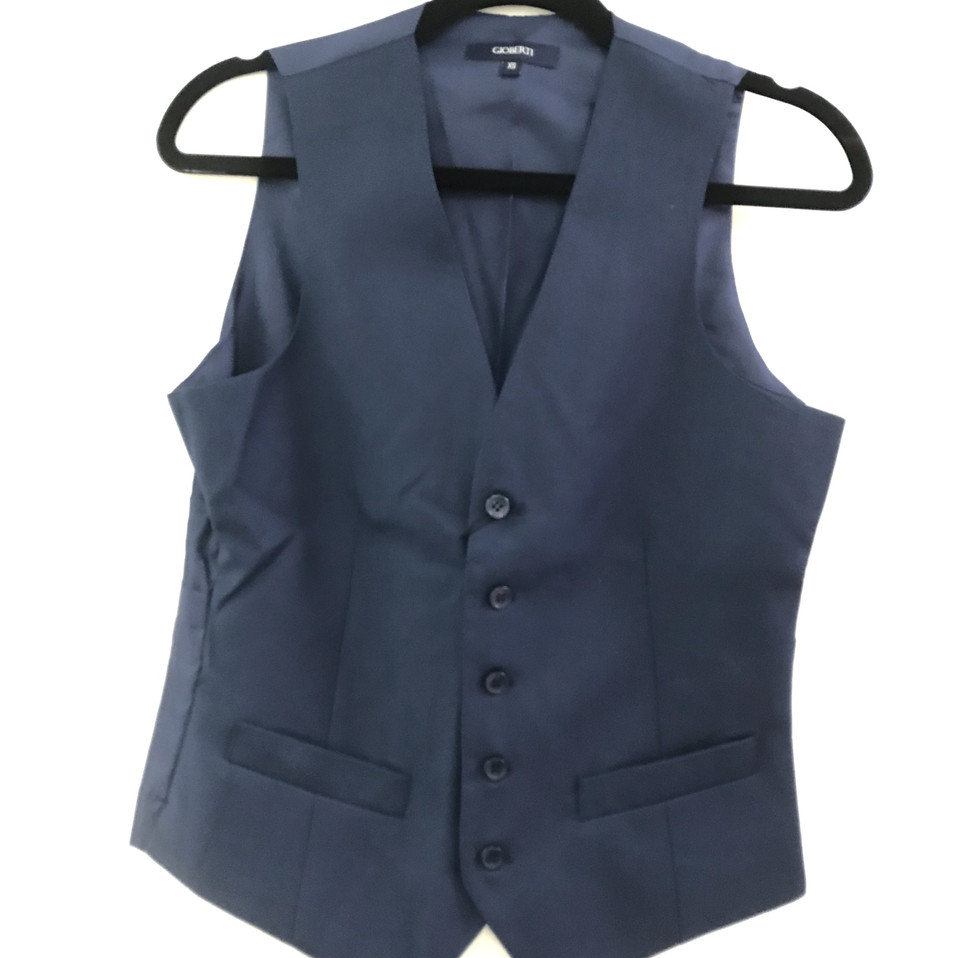 Navy and Blue Vest