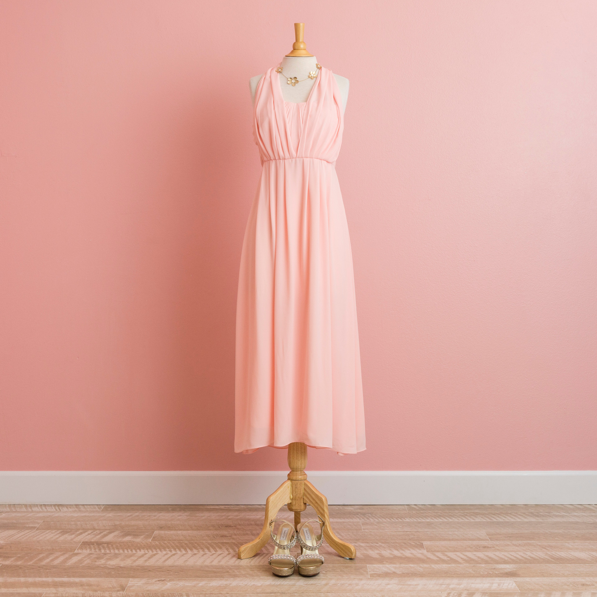 6 Ways Arrangeable Dress