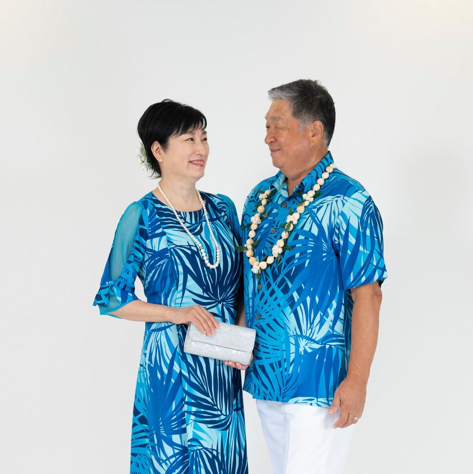 Leefy dress and matching shirt