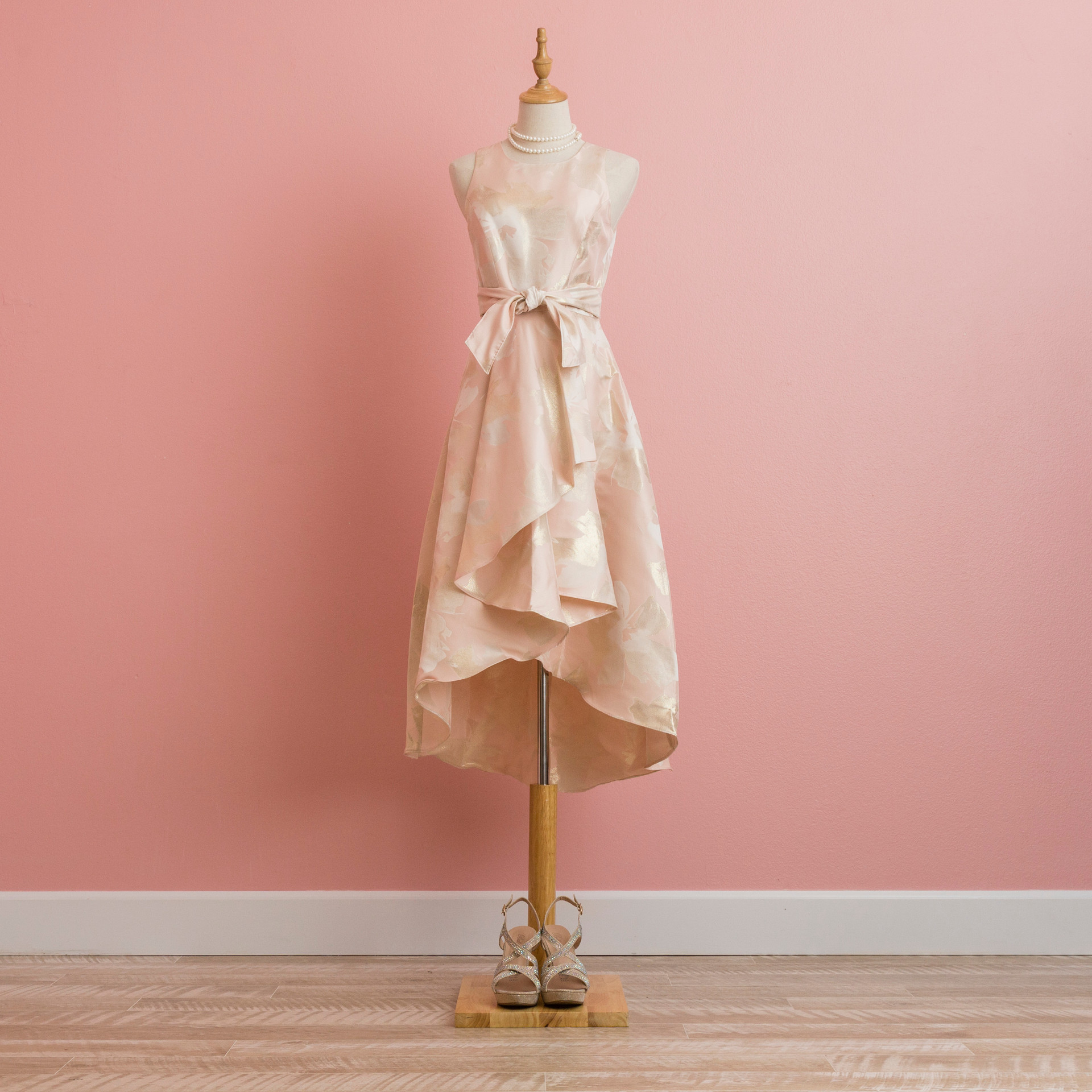 Shoshana pale pink dress: PD0912PI91