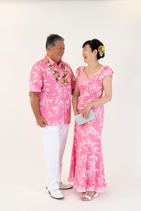 Pink Matching Dress