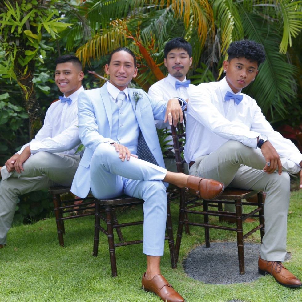 Grooms men outfits