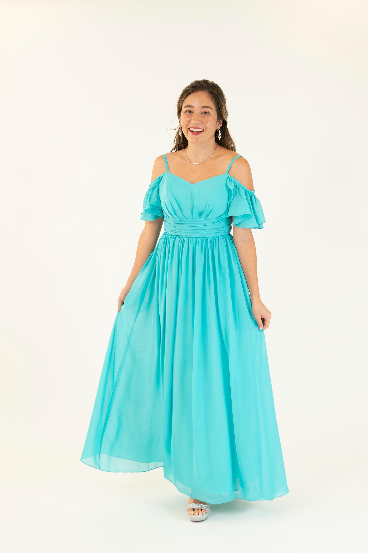 Turq. Dress