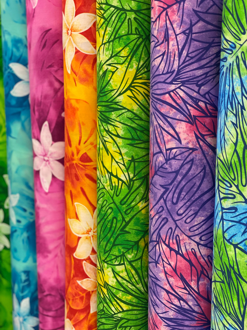 Colorful Hawaiian Fabric