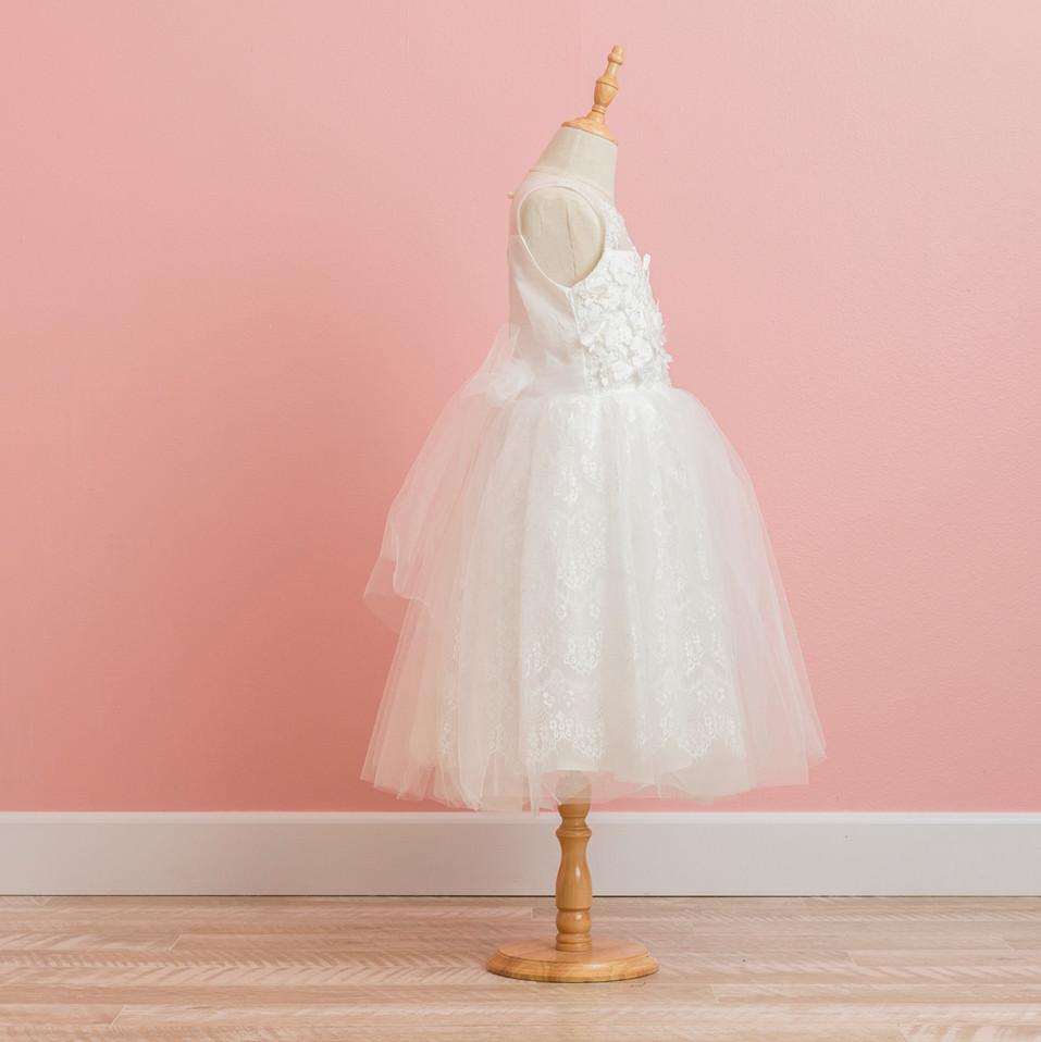 White Girl's Dress