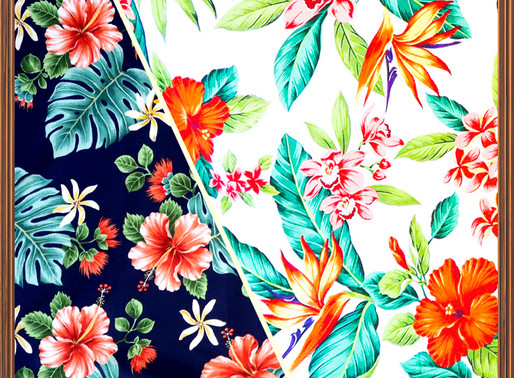 Do you love Hawaiian pattern fabric?