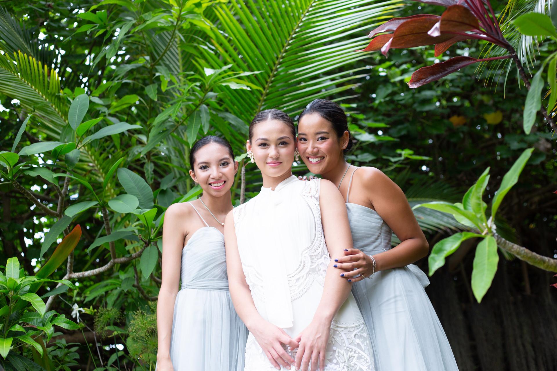 Greenish Grey Bridesmaid Dress