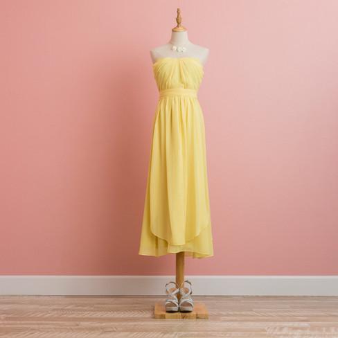 Arrange Yellow Dress