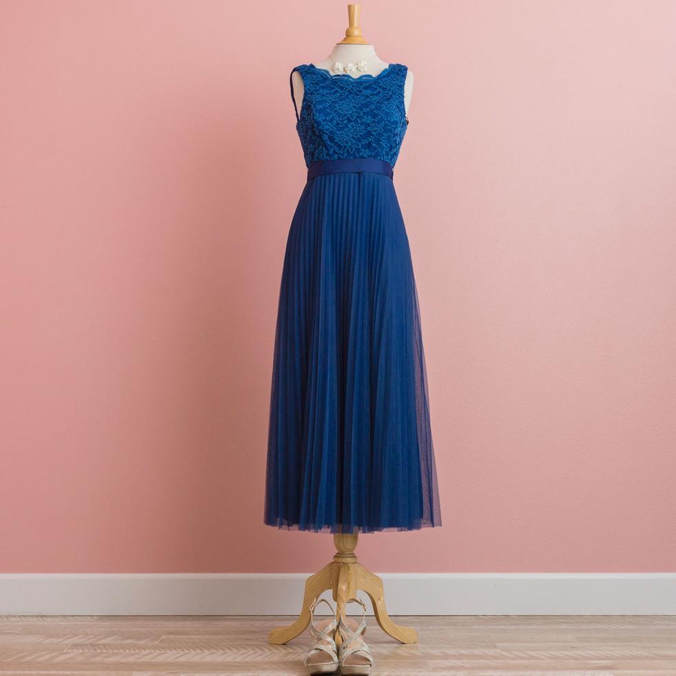 Royal Blue Pleats: BD1199NV