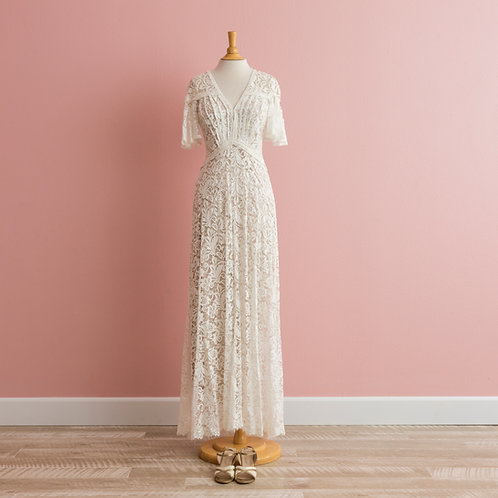 Vow Renewal Lacey Dress from Anthropologie