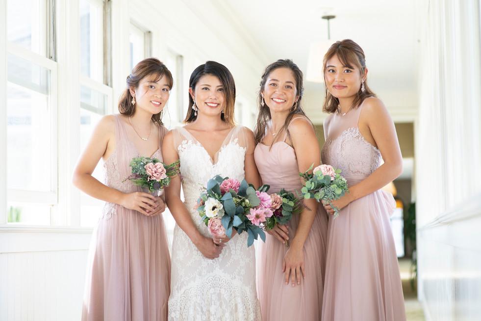Beige Pink Dresses