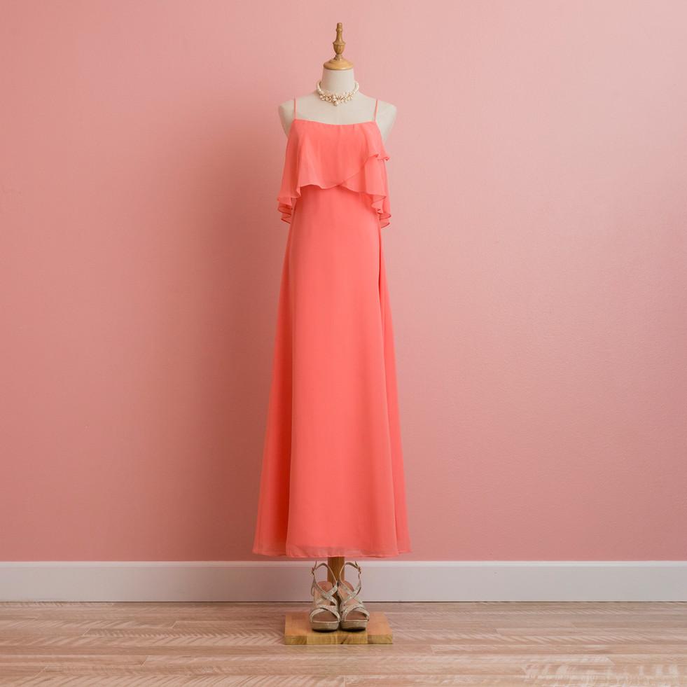 Orange Layer Dress