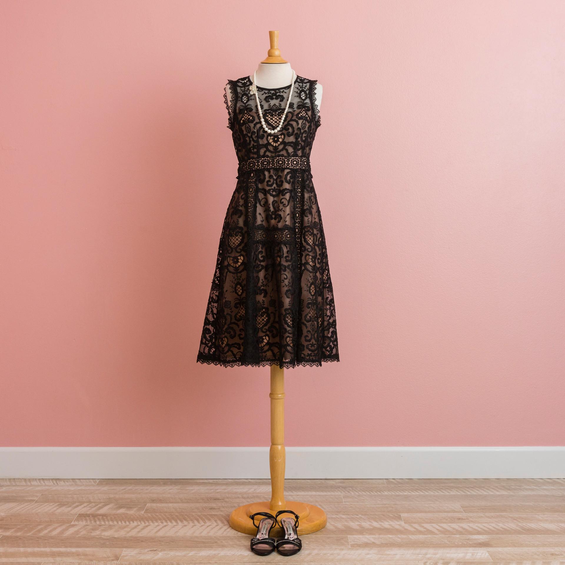 Black lacey dress:PD0999BK92