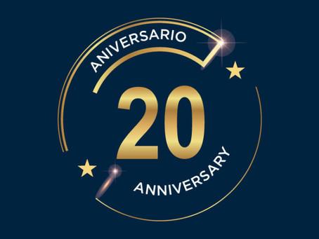 Vinylcolor celebra 20 años contigo