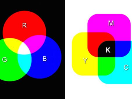 Diferencias entre RGB y CMYK