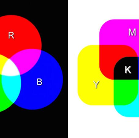Diferencias RGB y CMYK