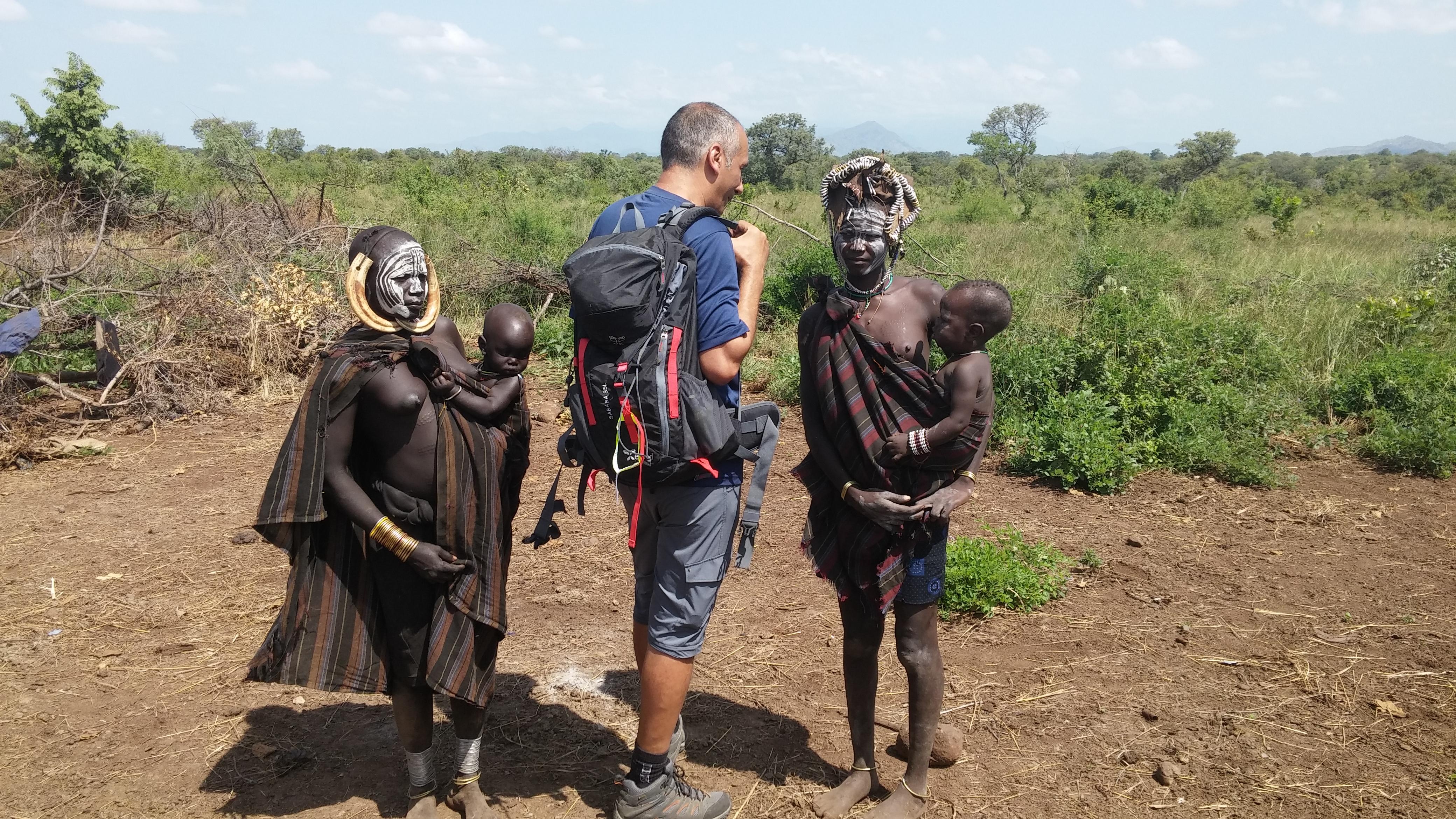 שבט המורסי דרום אתיופיה