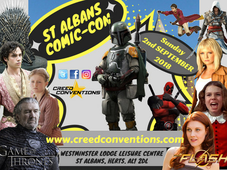 St Albans Comic-Con inaugural event is a hit!