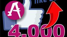 Alcanzamos los 4,000 seguidores !!!