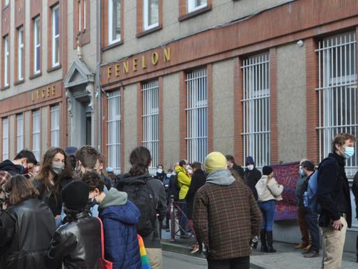 Grève au lycée : Fénelon fait du bruit… pour la bonne cause