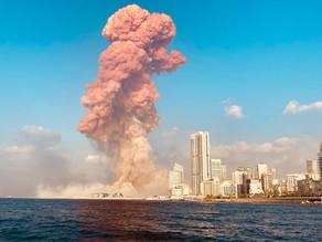 Double explosion dans la ville de Beyrouth : sang, sueur et larmes
