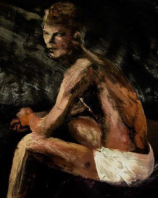 James Dearlove, Figure sitting.JPEG