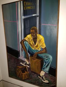 Pop's The Bread Winner Painting