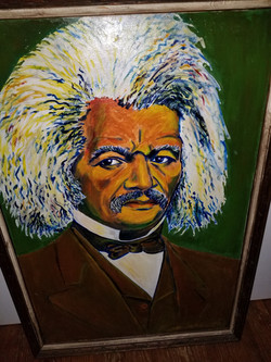 Pop's Fredrick Douglas Painting