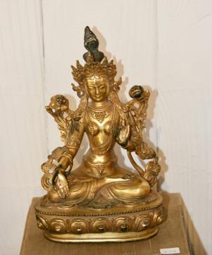 Bronze Buddha 18C