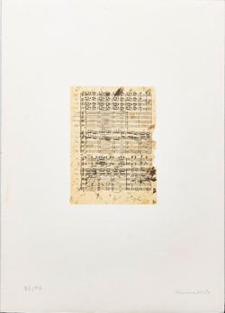 Jannis Kounellis 1936 -  Elletra $300