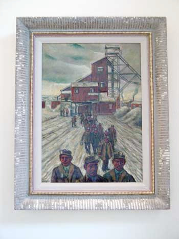 Miners Leaving Shaft 1924