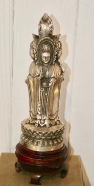 Kangxi Silver Buddha