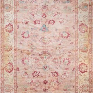Indian Salmon-Ground Carpet Agra 1200 .j