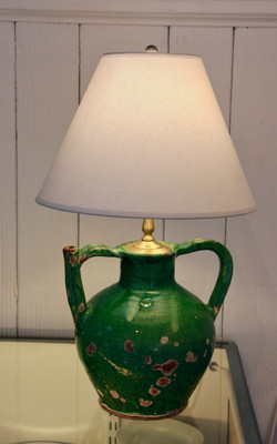 French Antique Vase Lamp