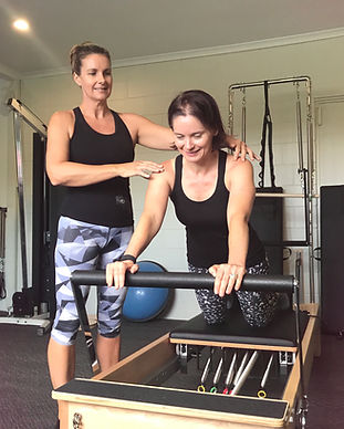 evolve pilates reformer session