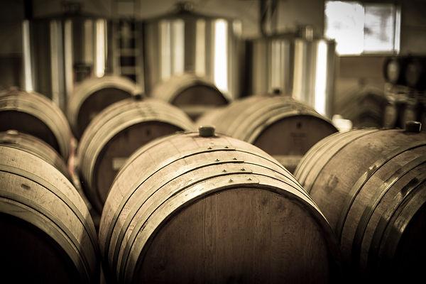 barrels in shop high angle.jpg