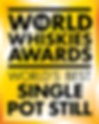 World Whiskies Award Best Pot Still