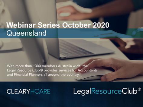 Legal Resource Club® Virtual Workshop - Queensland