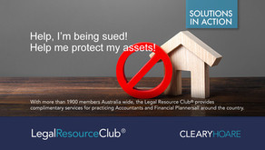 I'm being sued! Help me protect my assets.