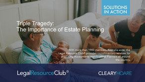 The Triple Tragedy:  The Importance of Estate Planning