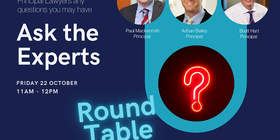 Ask the Experts Round Table