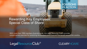 Rewarding Key Employees: Special Class of Share