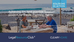 Achieve the Best Possible Taxation Position for Estate Planning Clients