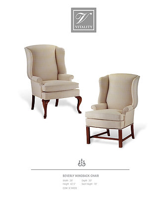 Beverly Wingback Chair