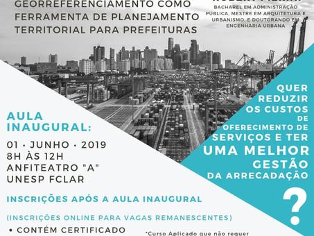 Curso Georreferenciamento como Ferramenta de Planejamento Territorial para Prefeituras
