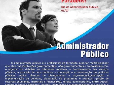 Dia do Administrador Público
