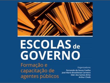 """Livro """"Escolas de Governo: formação e capacitação de agentes públicos"""""""